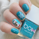 Bow Nail Polish Miracle (author - nails_galinavoropay)