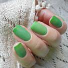Bow Nail Polish Верхнее покрытие с термоэффектом (зеленое) (автор - nails_galinavoropay)