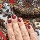 Bow Nail Polish Revel (author - Juliyga_che)