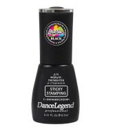 Dance Legend Липкий лак для стемпинга Sticky Stamping Black