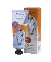 Farm Stay Крем для ног с лошадиным маслом