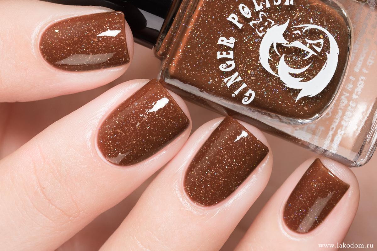 шоколадный дизайн ногтей фото наслаждаться