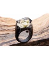 GREEN WOOD Деревянное кольцо Nocturne