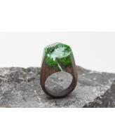 GREEN WOOD Деревянное кольцо Waterfall