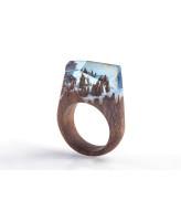 GREEN WOOD Деревянное кольцо Winterfell
