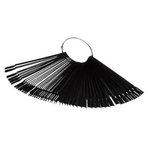 IRISK Дисплей-веер на кольце 50 шт. (черный)