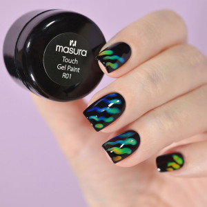 Masura Color Changing Touch Gel Paint