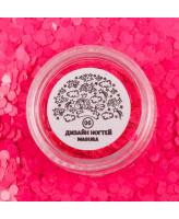 Masura Блестки для дизайна 06 Розовые соты