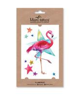 Miami Tattoos Акварельные переводные тату Flamingo