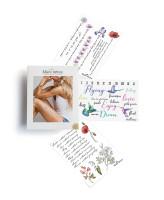 Miami Tattoos Акварельные переводные тату Floral Lettering