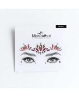 Miami Tattoos Кристаллы для лица Firebird