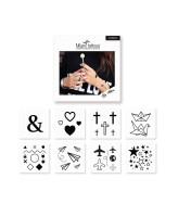 Miami Tattoos Временные татуировки Symbols