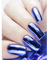 MILV Фольга для дизайна ногтей синяя