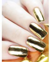 MILV Фольга для дизайна ногтей золото