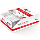 MILV Салфетки для снятия лака и гель-лака Ассорти 200 шт. (Nail & Gel Polish Removing Wipes 200 pcs)