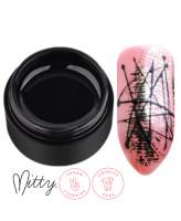 Mitty Гелевая паста для дизайна ногтей Black