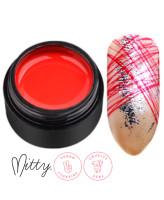 Mitty Гелевая паста для дизайна ногтей Red
