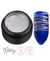 Mitty Гелевая паста для дизайна ногтей Silver