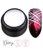 Mitty Гелевая паста для дизайна ногтей White