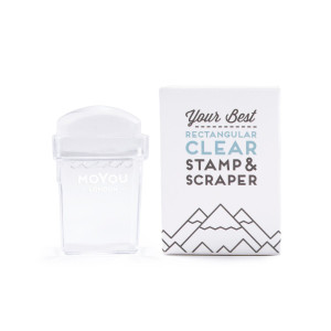 MoYou London Clear Rectangular Stamper