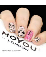 MoYou London Глиттер Princess Pink
