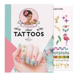 MoYou London Temporary tattoos Tropical Colour 01