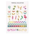 MoYou London Временные татуировки Tropical Colour 01 (Temporary tattoos Tropical Colour 01)
