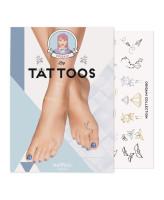 MoYou London Временные татуировки для ног Origami 01