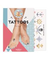 MoYou London Временные татуировки для ног Sailor 01