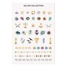 MoYou London Временные татуировки Sailor Colour 01