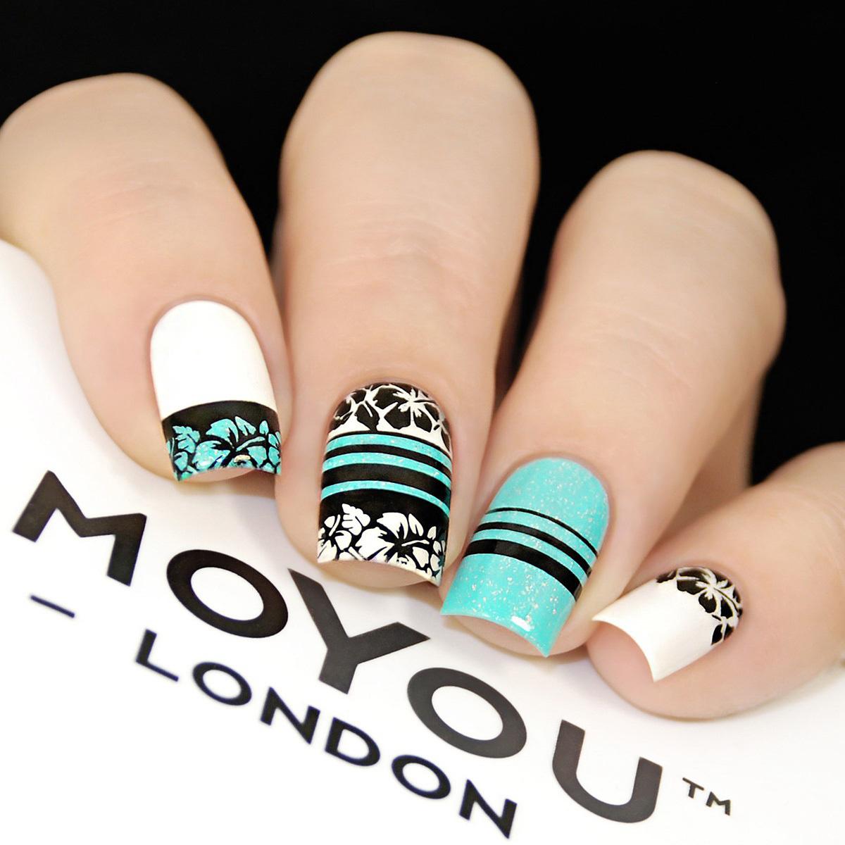 Пластина для стемпинга MoYou London MPTRO17 Tropical 17 ...