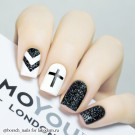 MoYou London Глиттер Gotham Black