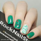 RockNailStar Трафарет-мини Розы