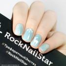 RockNailStar Трафарет Север