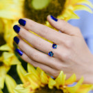 SOKOLOV Кольцо 94011785 (Кольцо из серебра с кристаллами Swarovski)