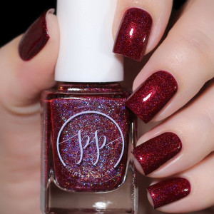 Painted Polish Courting Cupid