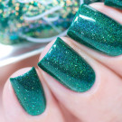 Painted Polish Electric in Emerald