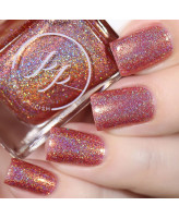 Painted Polish Rose Gold Romantic