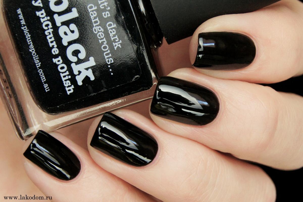 процент картинки лак для ногтей черный всего продаже