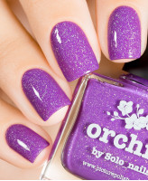 piCture pOlish Orchid