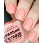 piCture pOlish Peaches n' Cream