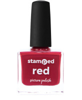 Picture Polish Stamped Red