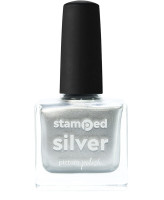 Picture Polish Stamped Silver