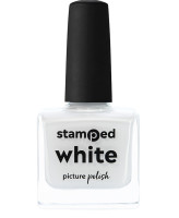 Picture Polish Stamped White
