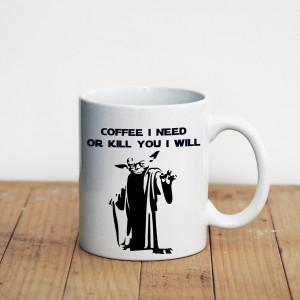 Просто Мыколка Кружка Coffee I need or kill you I will