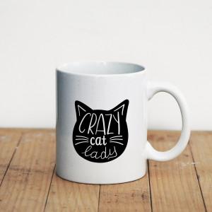 Просто Мыколка Кружка Crazy Cat Lady