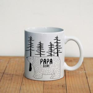 Просто Мыколка Кружка Papa bear
