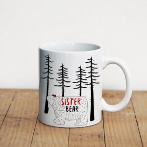 Просто Мыколка Кружка Sister bear