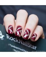 RockNailStar Трафарет Ацтек