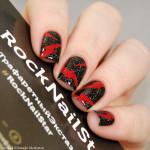 RockNailStar Трафарет Конфета